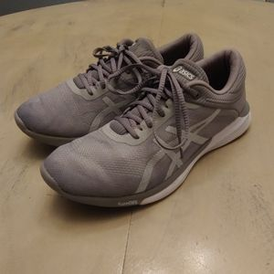 Womens Asics Grey Running Shoes T768N